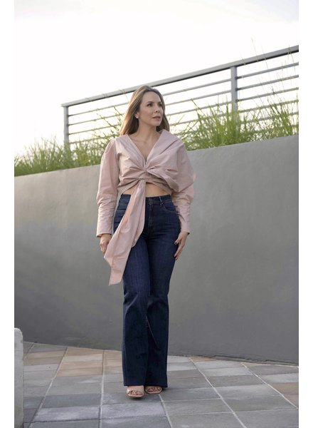 PADOVA PANT - High Rise Flared Jeans