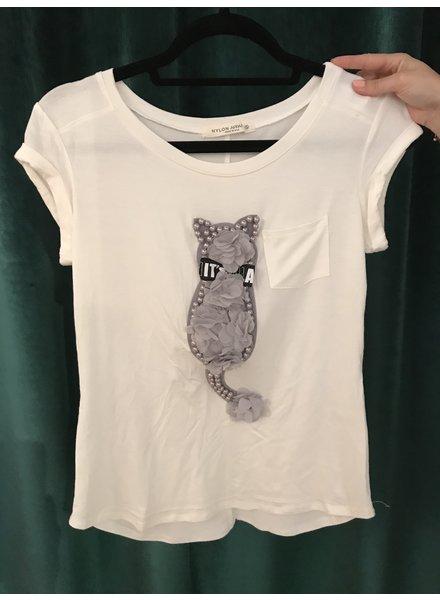 T-Shirt Pretty Kitty Pearl