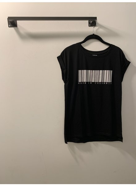 T-Shirt Made in Colombia Black - Size|S
