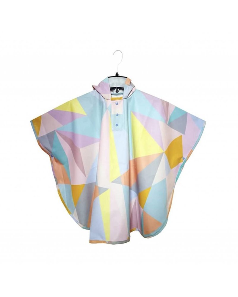 Aguazero Zara Geometric Raincoat - Size Small