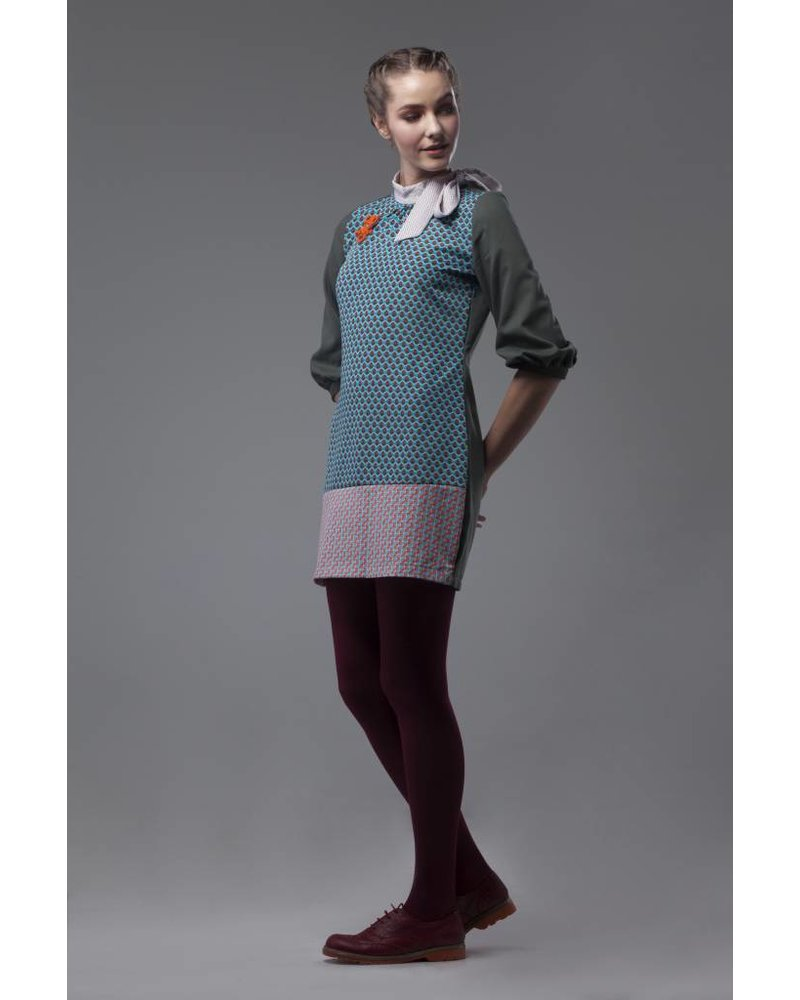 Bendita Seas DRESS - Solano Silk Mini - Size 10