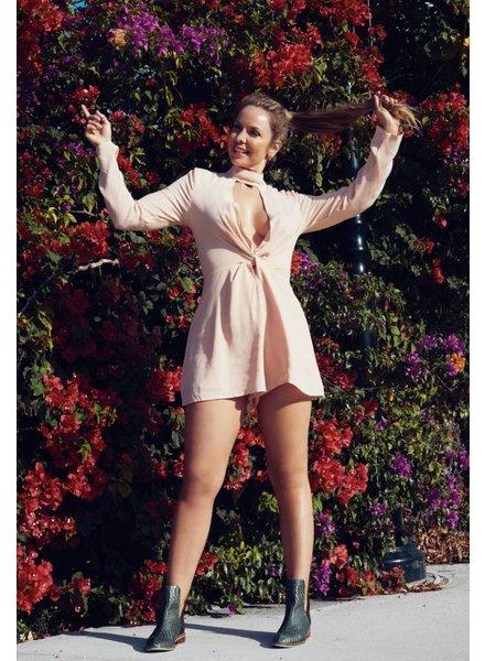 Emerging Designers Brenda Pink Romper