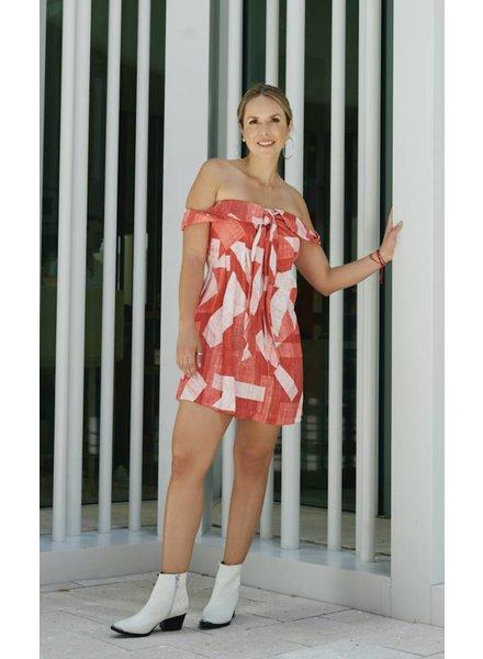 Emerging Designers DRESS - Ivy Off The Shoulder