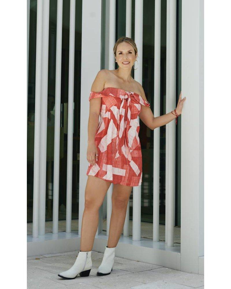 Emerging Designers Ivy Off The Shoulder Dress