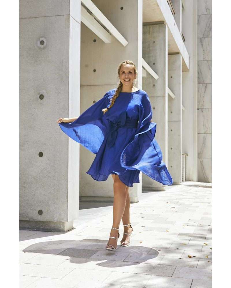 Emerging Designers Claudia Dress With Flared Sleeves