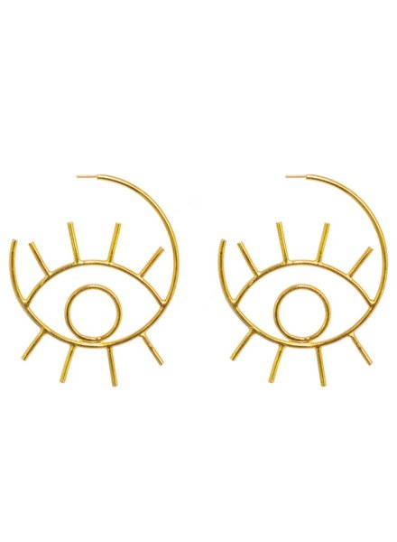 Tantra Ciara Eye Earrings