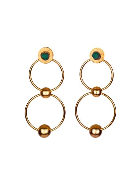TAO Mila 25k Gold Earrings