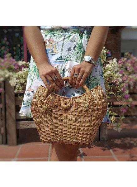 Palma Canaria Mini 2 Palm Handmade Basket Bag