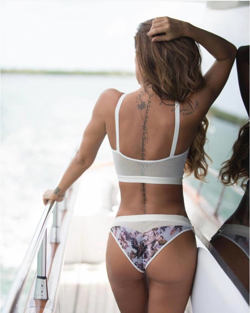 La Tucha SET - Swimsuit - Hayyoth Two-Piece  - Size M