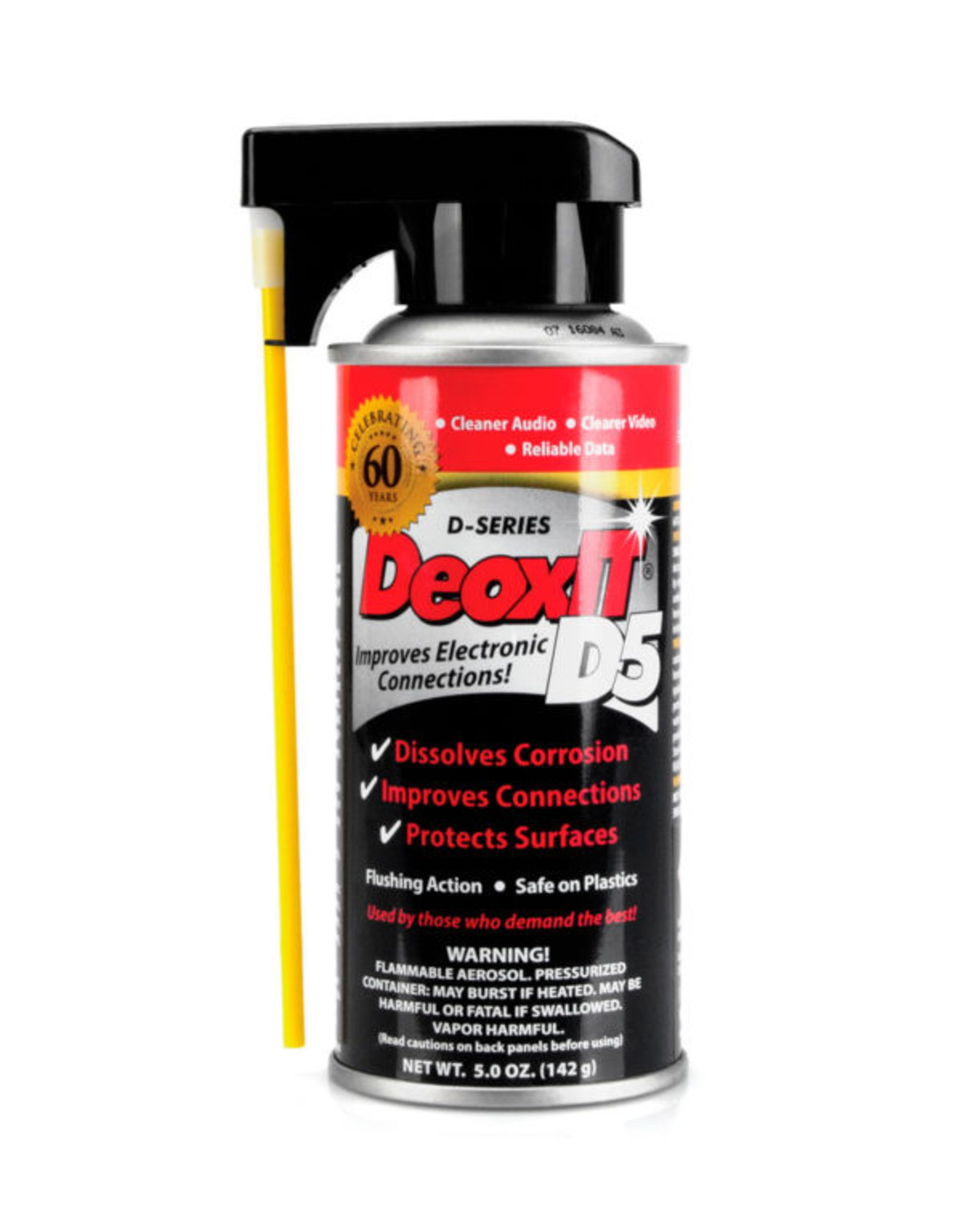 Hosa CAIG DeoxIT Contact Cleaner 5% Spray