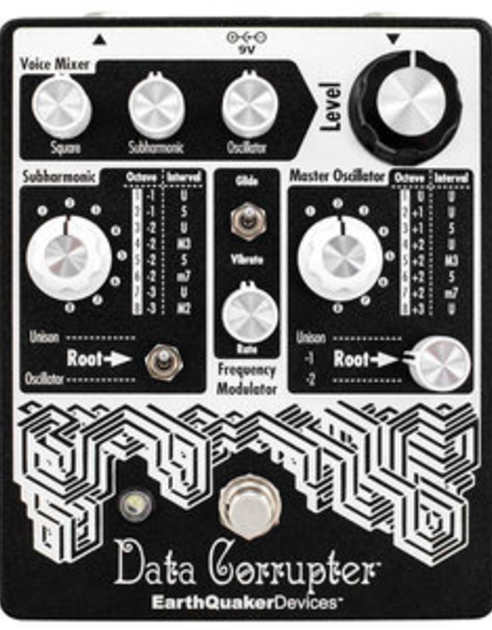 EarthQuaker Devices EarthQuaker Data Corrupter Modulated Monophonic Harmonizing PLL