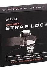 D'Addario D'ADDARIO NS STRAP LOCK SYSTEM - NICKEL