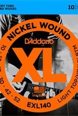 D'Addario D'Addario EXL140 LightTop/Heavy Bottom Electric Guitar Strings 10-52