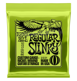 Ernie Ball Ernie Ball 10-46 Regular Slinky Nickel Wound Electric Guitar Strings