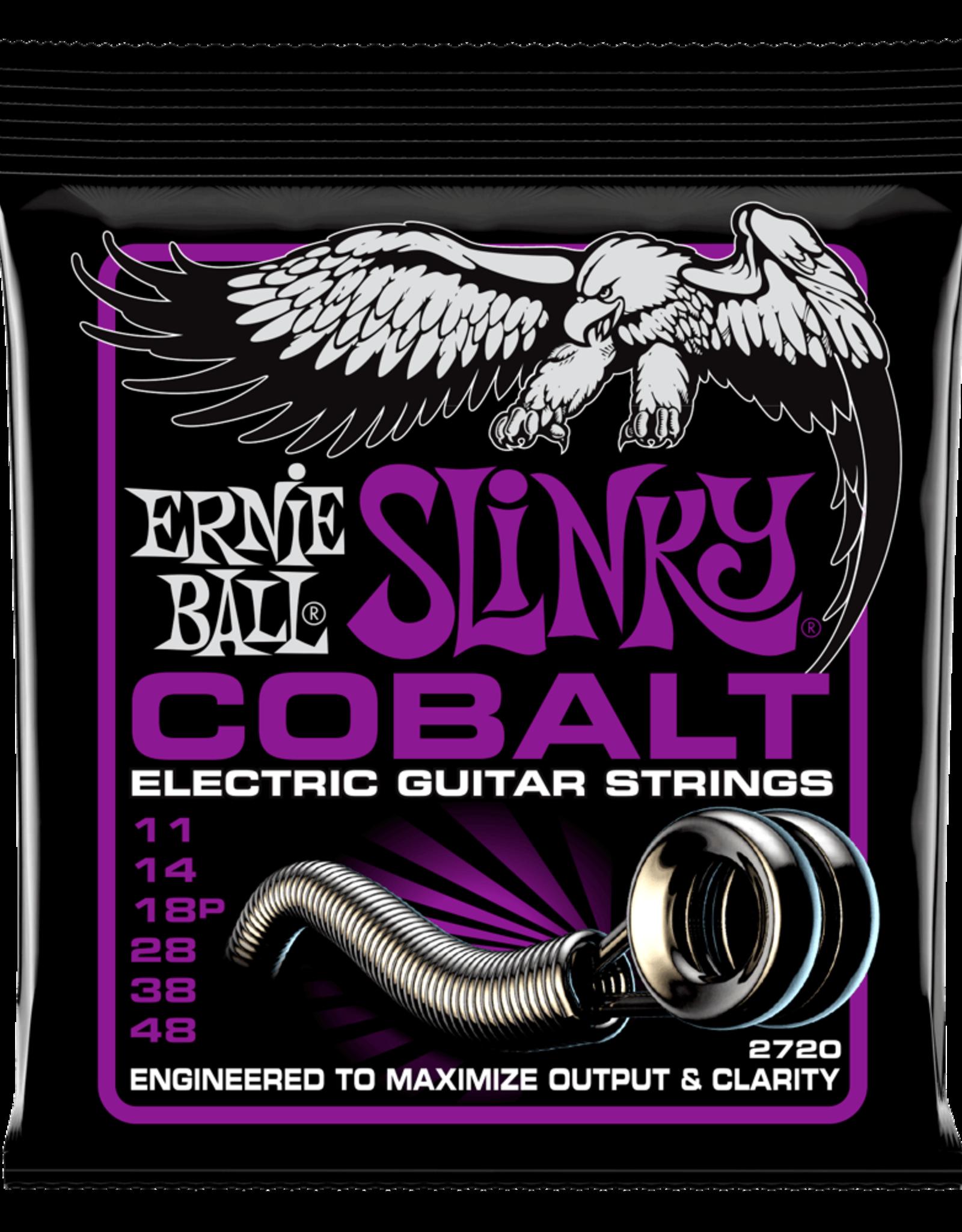 Ernie Ball Ernie Ball Cobalt 11-48 Power Slinky Electric Guitar Strings