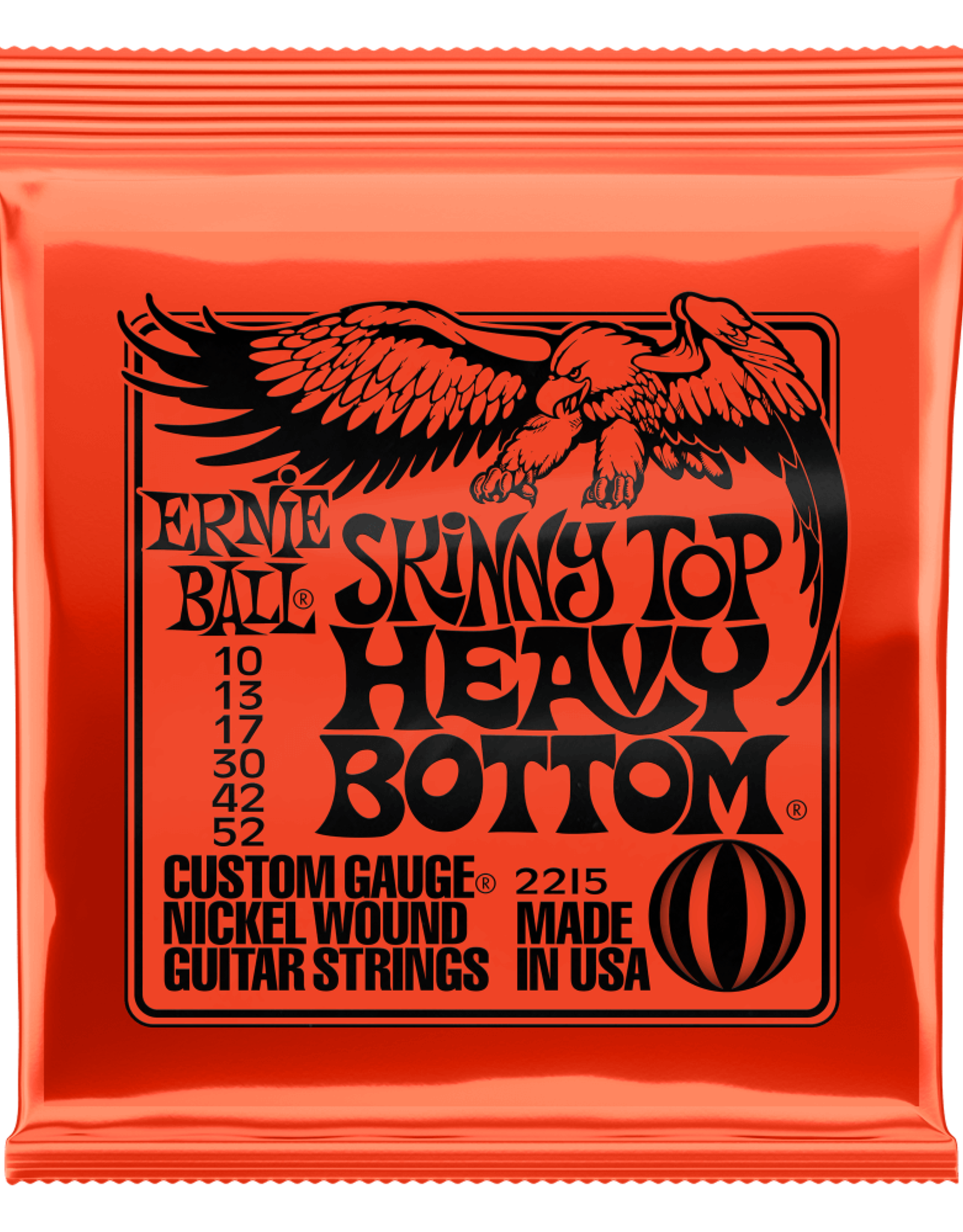 Ernie Ball Ernie Ball 10-52 Skinny Top Heavy Bottom Slinky Nickel Wound Electric Guitar Strings