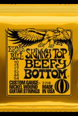 Ernie Ball Skinny Top Beefy Bottom Slinky Nickel Wound, 10-54