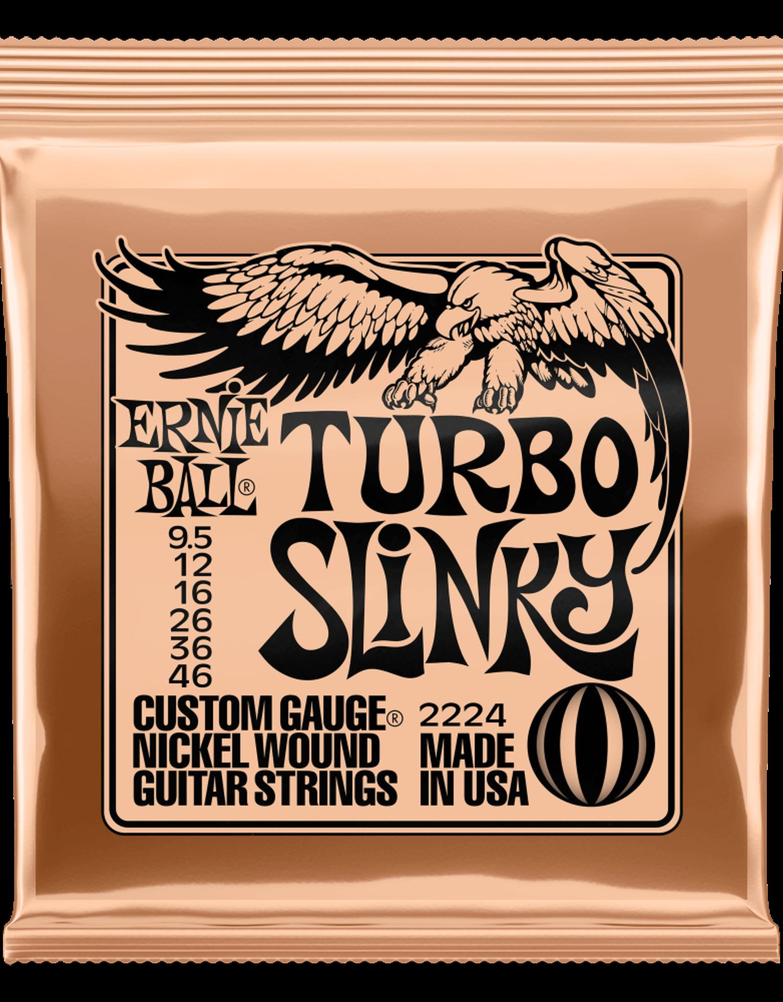 Ernie Ball Ernie Ball Turbo Slinky Nickel Wound 9.5-46