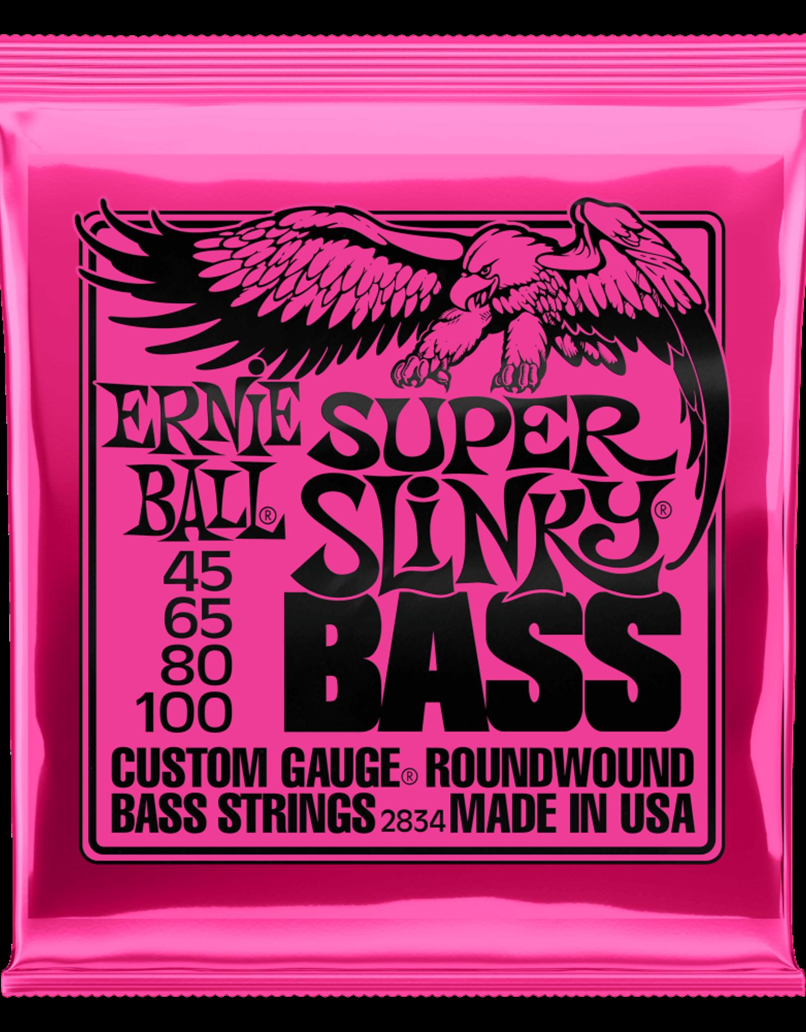 Ernie Ball Ernie Ball 45-100 Super Slinky Nickel Wound Electric Bass Strings