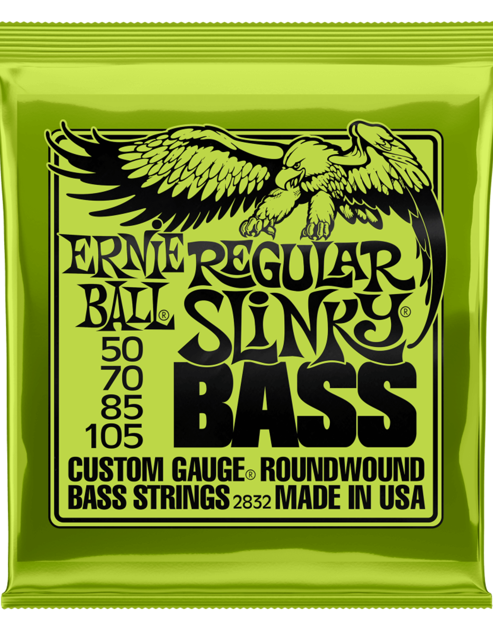 Ernie Ball Ernie Ball 50-105 Regular Slinky Nickel Wound Electric Bass Strings