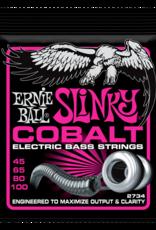 Ernie Ball Super Slinky Cobalt Electric Bass Strings 45-100