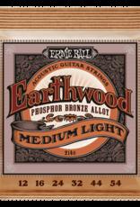 Ernie Ball Ernie Ball Earthwood 12-54 Medium Light Phosphor Bronze Acoustic Guitar Strings