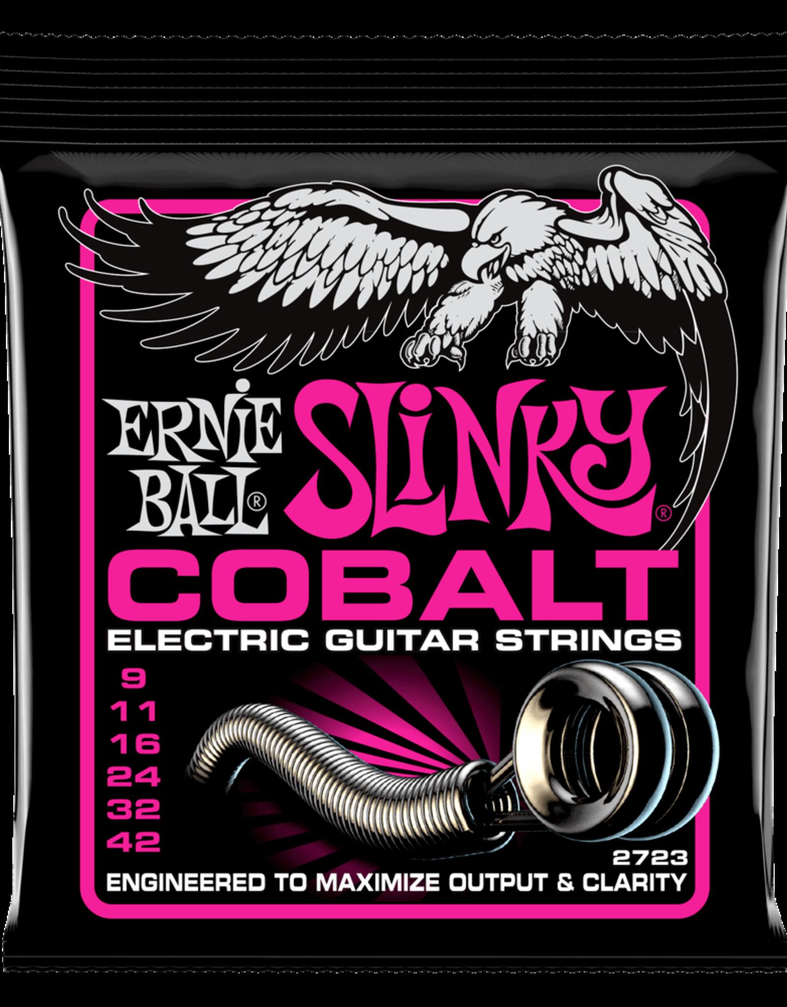 Ernie Ball Ernie Ball Cobalt 9-42 Super Slinky Electric Guitar Strings
