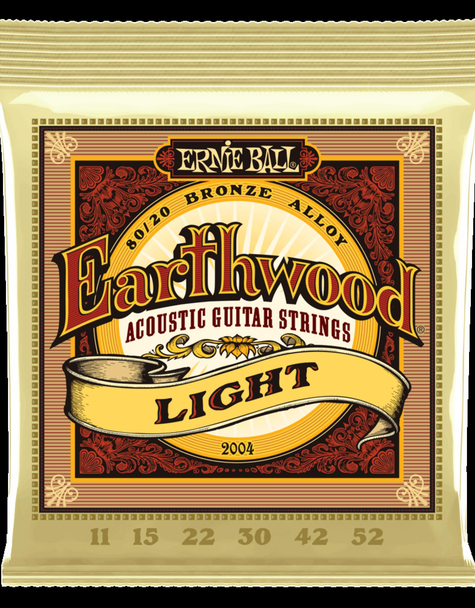 Ernie Ball Ernie Ball Earthwood 11-52 Light 80/20 Bronze Acoustic Guitar Strings