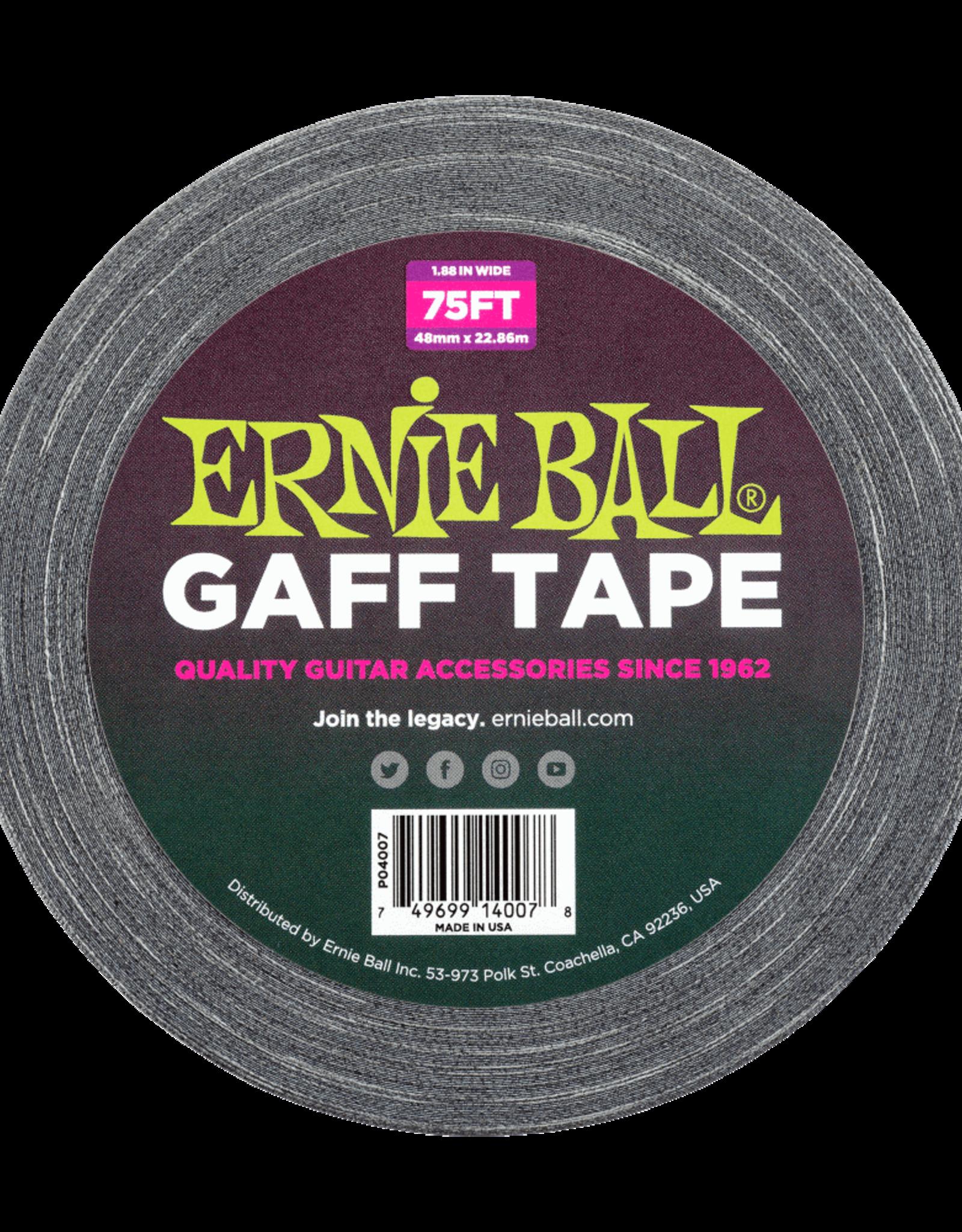 "Ernie Ball Ernie Ball Pro 2"" Gaff' Tape 75Ft Roll"