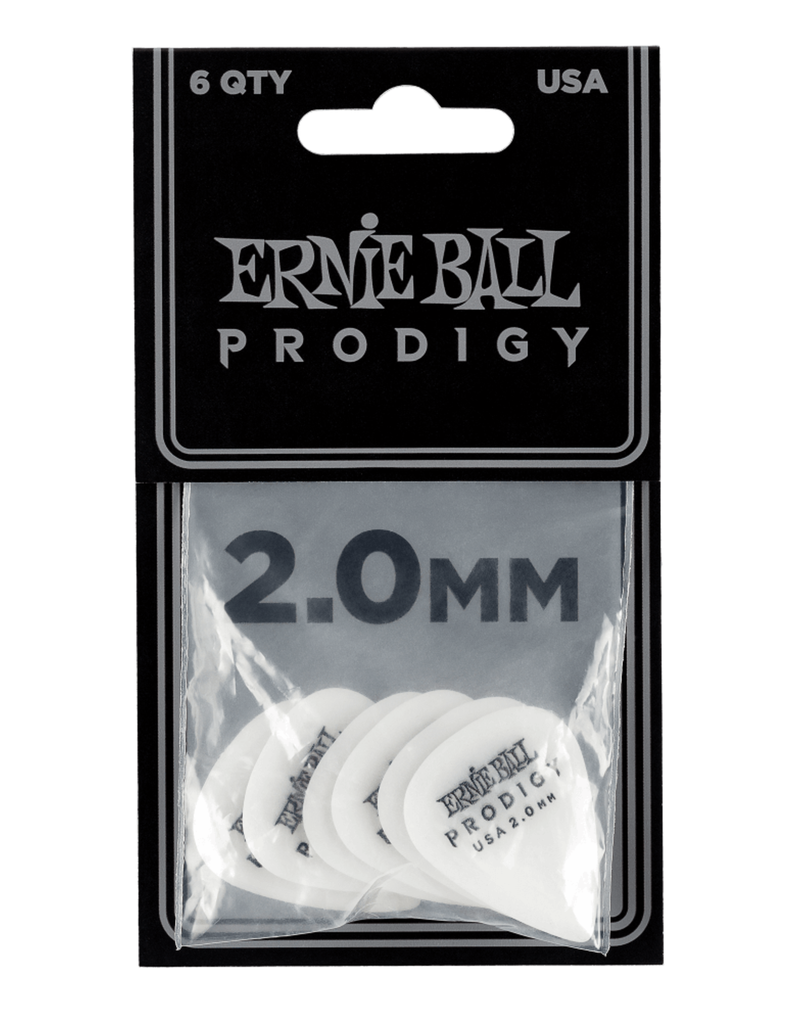 Ernie Ball Prodigy 2.0mm 6-pack