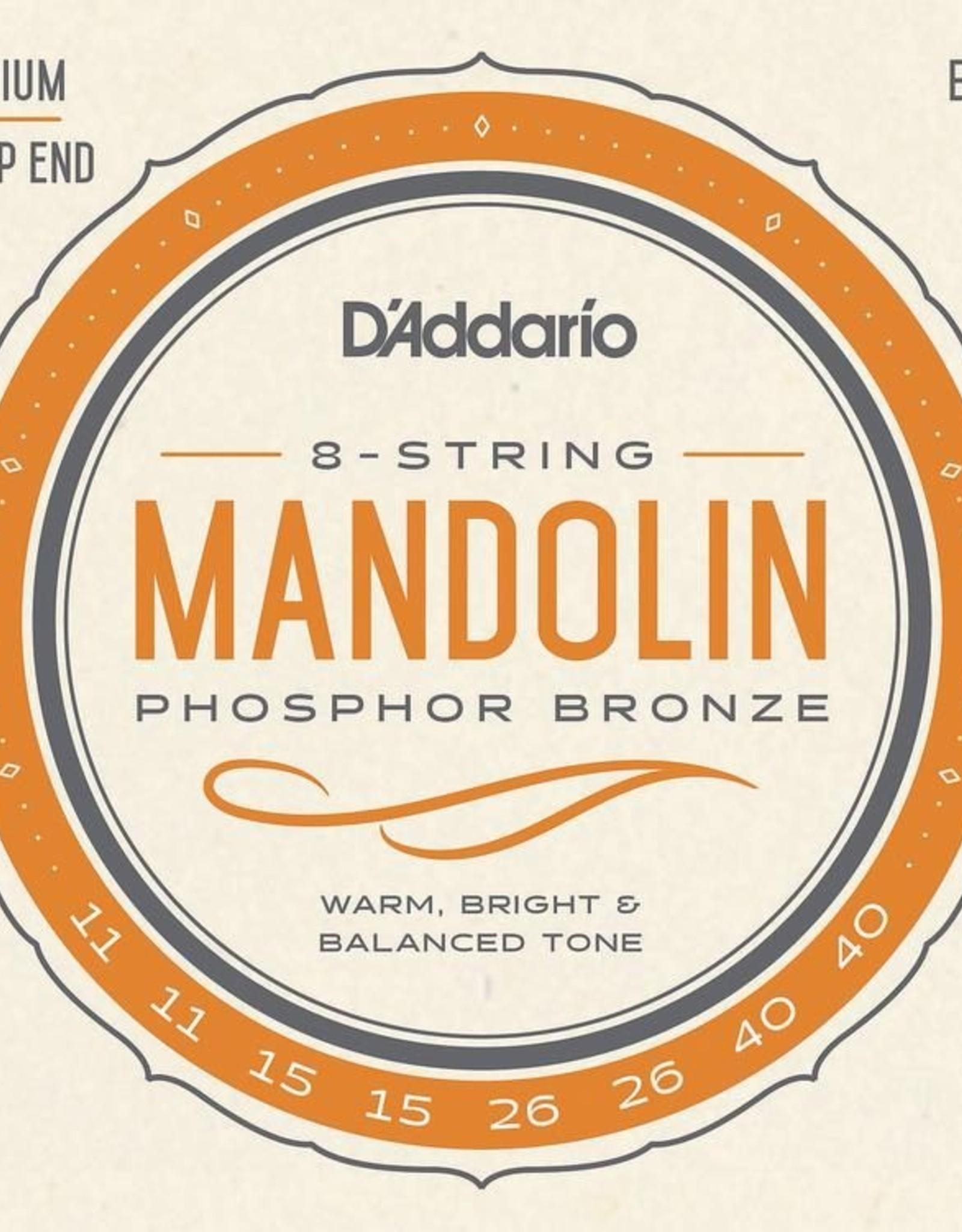 D'Addario D'Addario EJ74 Phosphor Bronze Medium Mandolin strings 11-40