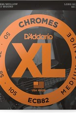 D'Addario D'Addario ECB82 50-105 Chromes Medium Gauge Bass Strings