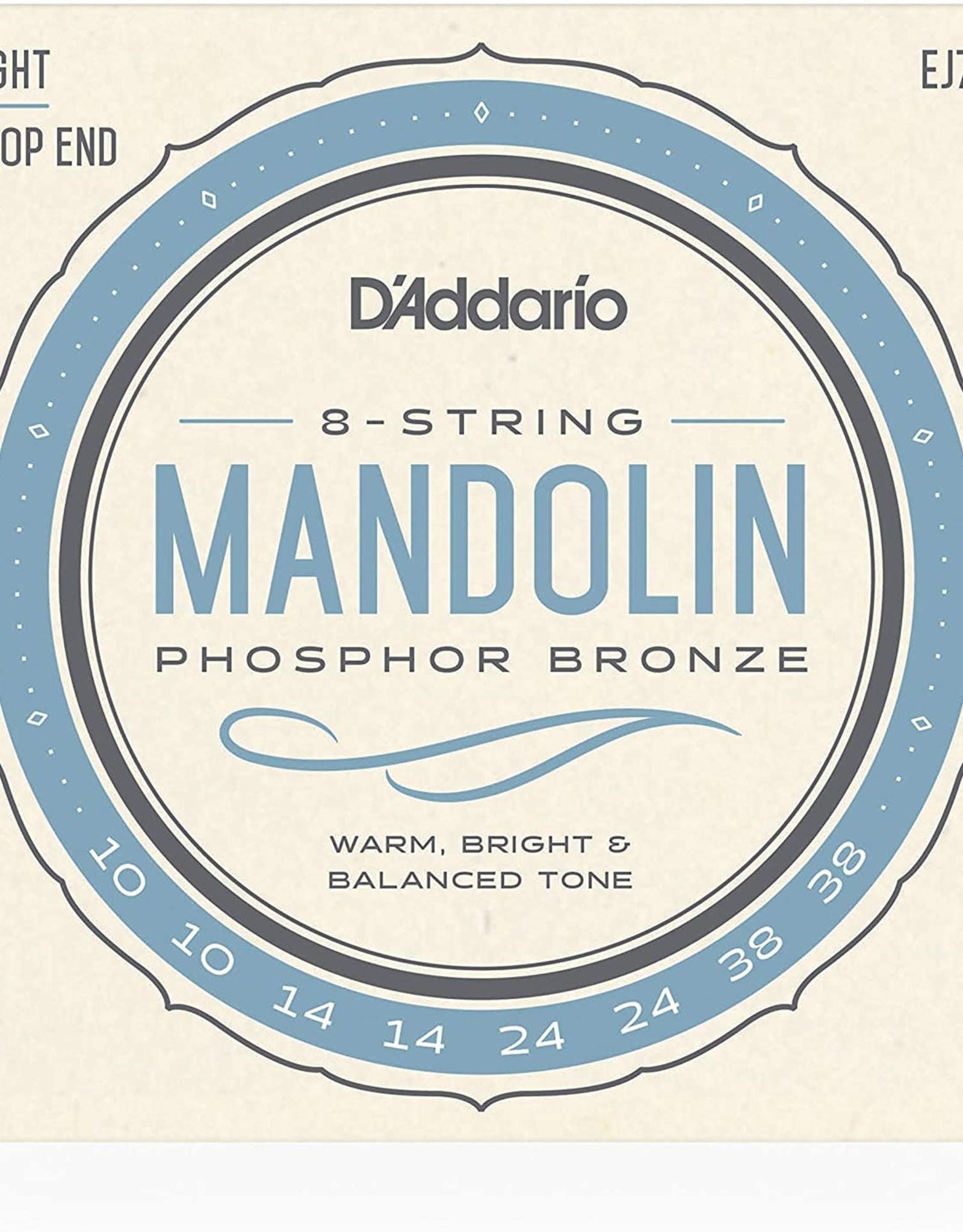 D'Addario D'Addario EJ73 Phosphor Bronze Light Mandolin strings 10-38