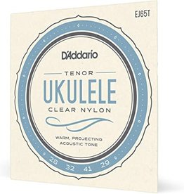 D'Addario D'Addario EJ65T Tenor Uke Clear Nylon Strings