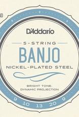 D'Addario D'Addario EJ60 Nickel Light Banjo Strings 9-20