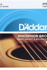 D'Addario D'Addario EJ38 12-String Phosphor Bronze Light Gauge 10-47, Acoustic Strings