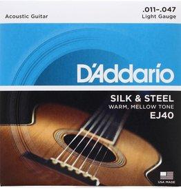 D'Addario D'addario EJ40 Silk and Steel Strings