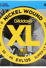 D'Addario D'addario EXL125 Super Light Top Heavy Bottom 9-46 Nickel Wound Electric Guitar Strings