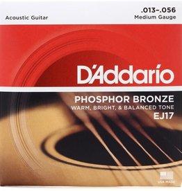 D'Addario D'Addario EJ17 3-Pack Phosphor Bronze Acoustic Guitar Strings