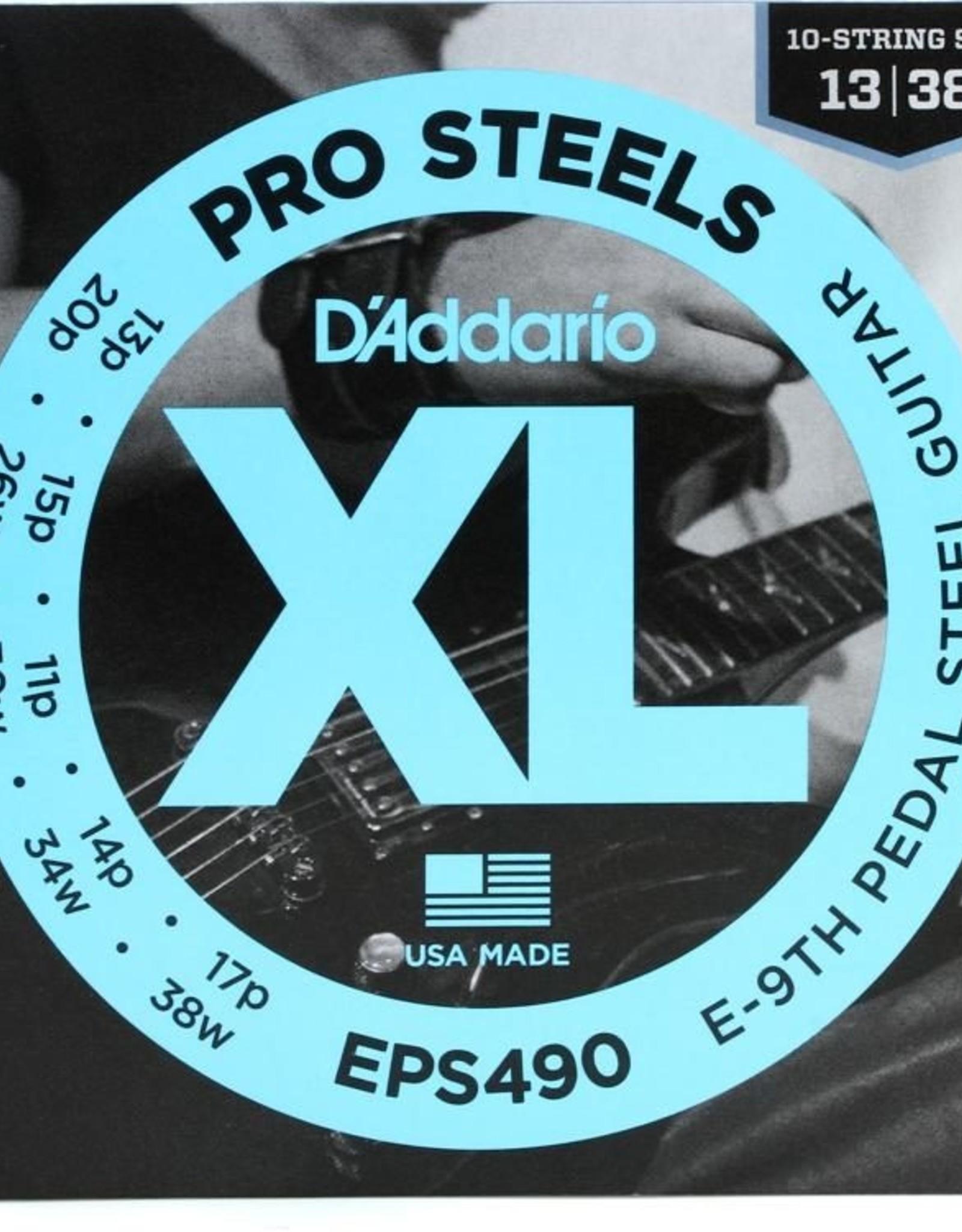 D'Addario D'Addario EPS490 Pro Steels Pedal Steel Strings, E-9th Steel Guitar