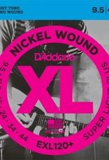 D'Addario D'addario EXL120+ 9.5-44, Electric Guitar Super Lite Plus