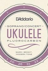 D'Addario D'addario Soprano/Concert Fluorocarbon Uke Strings