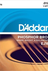 D'Addario D'Addario EJ16 3-Pack Phosphor Bronze Acoustic Strings