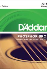 D'Addario D'Addario EJ18 Phosphor Bronze Heavy Acoustic Strings 14-59