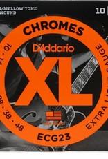 D'Addario D'Addario ECG23 Extra Light Gauge Chromes 10-48