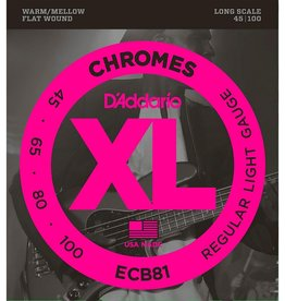 D'Addario D'Addario ECB81 Bass Chromes 45-100 Long Scale