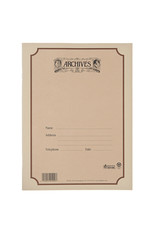 D'Addario 64 Page Archives Spiral Bound Manuscript Book