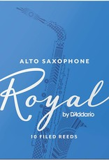D'Addario Royal Alto Sax 2.5 Reeds, 10 Box