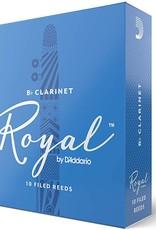 D'Addario Royal Bb Clarinet 3.0 Reeds, 10 Box