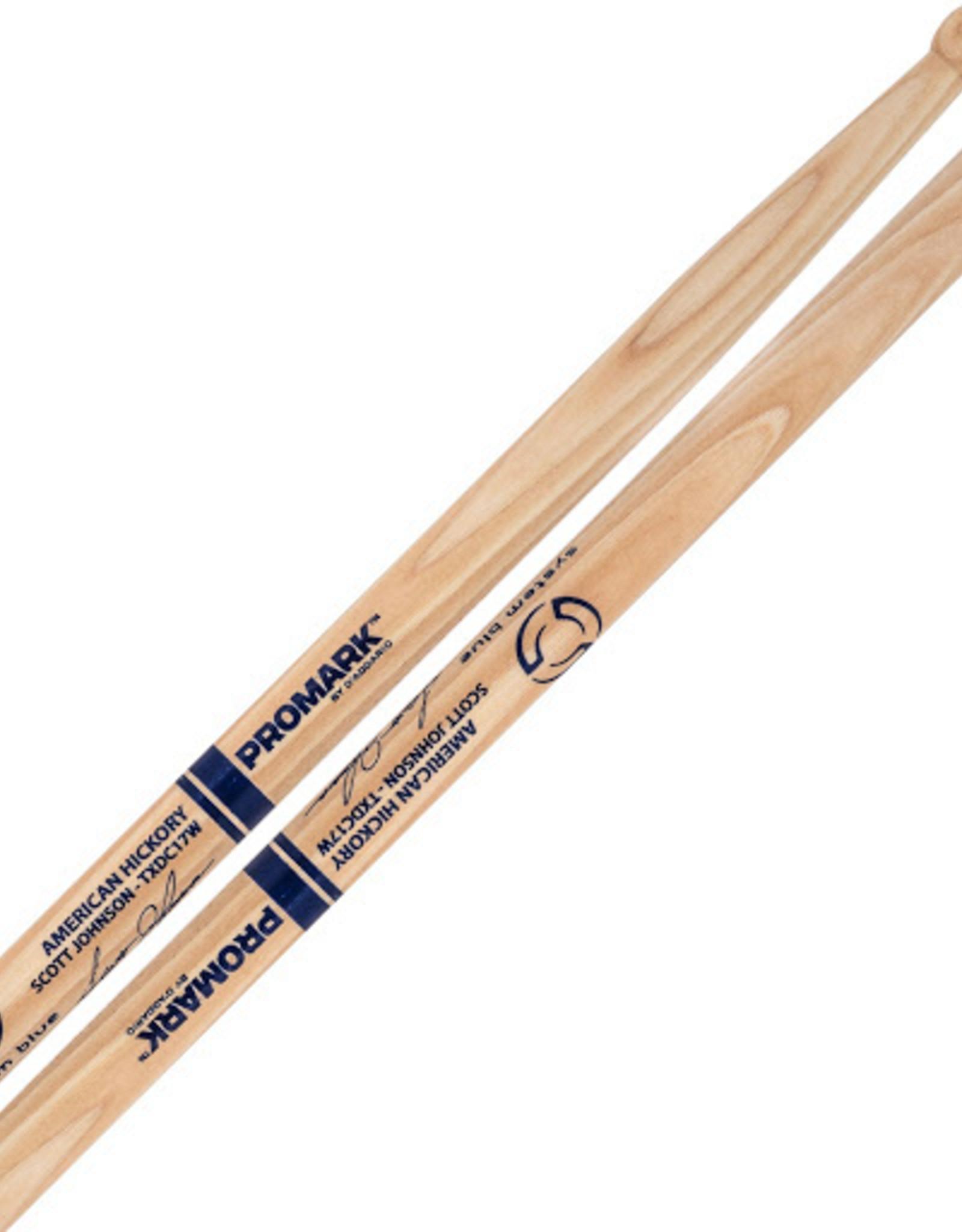 Promark Hickory Scott Johnson Marching Sticks